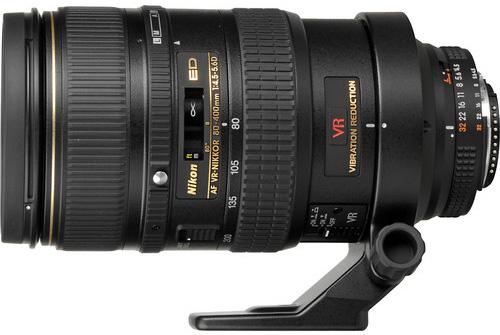 Nikon 80-400mm f/4.5-5.6D VR