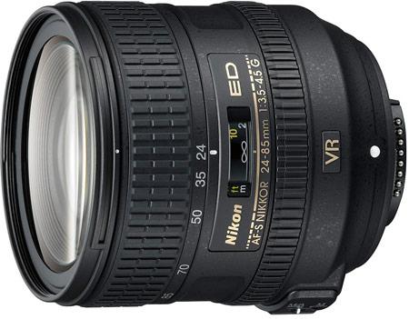 Nikon AF-S NIKKOR 24–85 мм f/3,5–4,5G ED VR