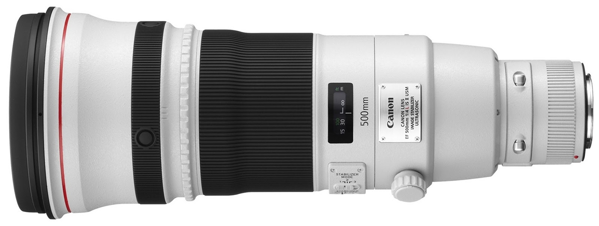 Canon EF 500 mm F/4.0 L IS II USM